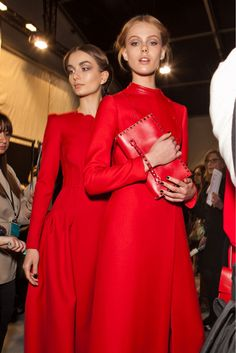 Classic red from Valentino