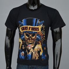 d0a41bd1e 3D Horror Printed Graphics Boys T-Shirts. Great T ShirtsSummer TshirtsGuns  N Roses ShirtSkate ClothingMen's ClothingHotRock ...