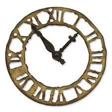 SIZZIX DIE Tim Holtz 'Horologe Patinée' clock cuttlebug