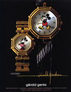 Gérald Genta (Watches) 1990 Fantaisies Mickey Mouse