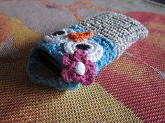 Virkkausta ja värkkäystä: Virkattu kännykkäkotelo Crochet Mobile, Beanie, Hats, Hat, Beanies