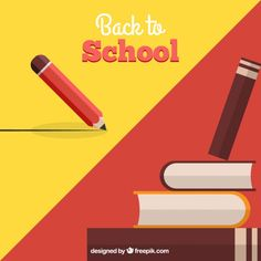 Free vector Back to school background Vector Free Download, Free Vector Art, Presentation Backgrounds, Backgrounds Free, School Design, Art Images, Paper Cutting, Back To School, Clip Art