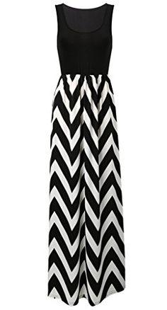 MIOIM® Damen Sommerkleid Kleider Maxikleid Streifen S…