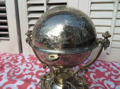 Antique Silver Egg Coddler   Egg Warmer by threebrevival on Etsy