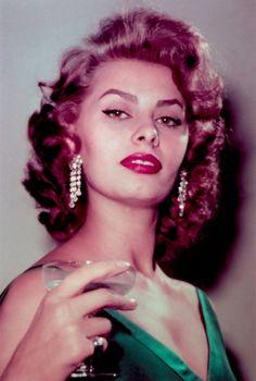 Happy New Year from Sophia Loren.
