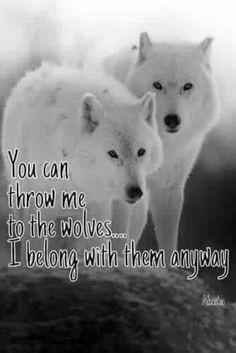 Bildergebnis für i am a wolf quote