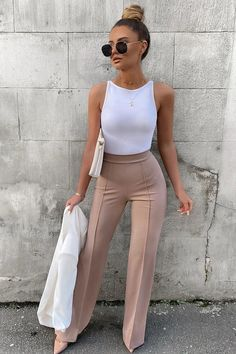 Casual Outfits For Girls, Glamouröse Outfits, Business Casual Outfits For Women, Summer Work Outfits, Classy Outfits, Stylish Outfits, Fall Outfits, Winter Dresses, Casual Dresses