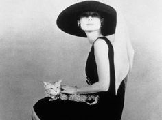 Hats were all the rage in the 1950′s and hollywood actresses were the supermodels.