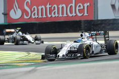 Pneus da Williams de Massa estavam fora de padrão, segundo a FIA (foto: EPA)