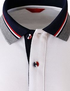 Grilling gift ideas [for men and women] Polo Shirt Style, Polo Shirt Outfits, Polo Shirt Design, Polo Design, Mens Polo T Shirts, Shirt Print Design, Sports Shirts, Shirt Designs, Mens Tees