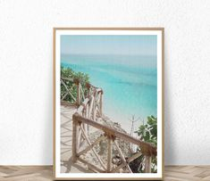 Available sizes (inches): Beach Theme Wall Decor, Beach Themes, Wall Art Decor, Large Framed Art, Framed Wall Art, Coastal Wall Art, Coastal Decor, Beach Photography, Painting Frames