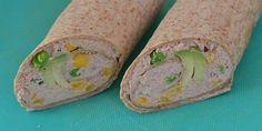 Sunde og dejlige wraps med tunsalat og avocado. Hurtige at lave og smager vidunderligt.