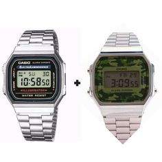 7e77648dfa5 Relógio Casio Dourado Feminino-masculino Kit Casal 2 Relógio