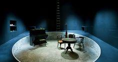 Play Strindberg. Ust - Play Strindberg. Ustinov Theatre Bath. Scenic design by…