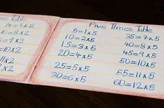 Math lesson book
