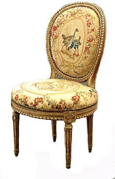 Graham Geddes Antiques - A Pair of Louis XVI Chairs by Georges Jacob, circa 1780, Call (03) 9509 0308 or send an enquiry grahamgeddes@grahamgeddesantiques.com (http://shop.grahamgeddesantiques.com.au/a-pair-of-louis-xvi-chairs-by-georges-jacob-circa-1780/)