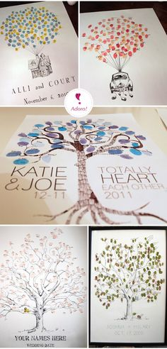 Guestbook diferente | Guestbook ideas engagement party black, glitter paint, sign with silver pen - silhouette of final p scene