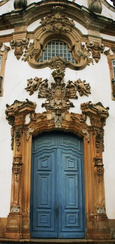 "Ouro Preto/MG/Brasil - Igreja Nossa Senhora do Carmo - another of the churches in Ouro Preto. I write about architectural historian Sylvio de Vasconcellos in ""Finding My Invincible Summer."""