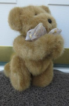 "Boyds Bears Hope The Archive Collection New 10"" Long Retired Plush Bear Praying  Now $9.87"