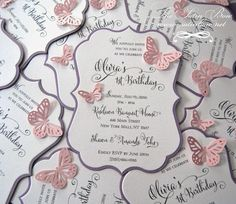 The Satin Bow creates custom stationery for your wedding and special occasion. We specialize in pocketfolds, rhinestone buckles and ribbons.