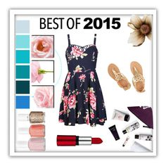 """Best of 2015"" by selena-gomezlover ❤ liked on Polyvore featuring мода, Ally Fashion, Cowshed и Ancient Greek Sandals"