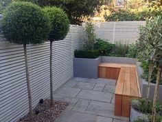 Fulham   Slim & Subtle Garden Design London Small Space Gardening, Garden Spaces, Small Gardens, Garden Design London, Urban Garden Design, House Landscape, Landscape Design, House Yard, Park House