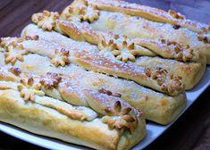 Štrúdlíci ze zakysané smetany recept - TopRecepty.cz Sponge Cake, Food To Make, French Toast, Bread, Cooking, Breakfast, Ethnic Recipes, Sweet, Basket
