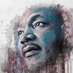 The 1963 TIME Magazine Man of the Year Martin Luther King Jr. Chris Brown Art, Jr Art, Art Folder, King Art, Black Artwork, African American History, Martin Luther King, My Idol, Illustration Art