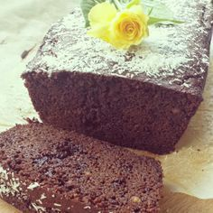Double Chocolate Cake (met kokosmeel)