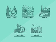 Travel Icon Design Illustrations New Ideas Travel Icon, Travel Logo, Travel News, Cv Inspiration, Graphic Design Inspiration, Icon Design, Logo Design, Flat Design, Design Design