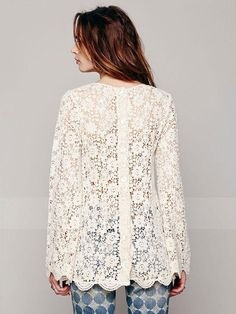 pictures of crochet blouses - Google Search