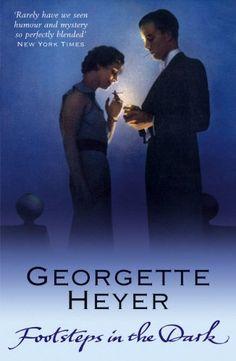 Footsteps in the Dark by Georgette Heyer http://www.amazon.ca/dp/0099493691/ref=cm_sw_r_pi_dp_3ABpub0F62ZHC