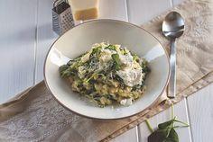 moey's kitchen foodblog - Die Mädchenküche kocht #2: Ofenrisotto mit frischem Spinat und Ricotta - moey's kitchen foodblog