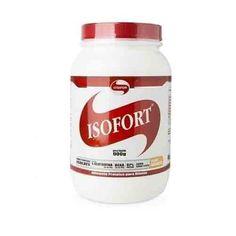 Isofort da Vitafor é um suplemento esportivo elaborado a partir da Whey Protein Isolada, a forma mais pura de proteína extraída do soro do leite, uma vez passa por um processo em que é retirado parte da gordura e do carboidrato presente em sua composição. Além disso, a whey protein contém todos os aminoácidos essenciais, ou seja, aqueles que não conseguem ser produzidos pelo nosso organismo, devendo assim ser obtidos por meio da alimentação ou suplementação.