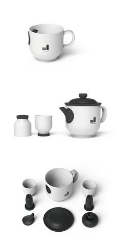 """The """"Unbreakable"""" tea set integrates past and contemporary tea making into an entirely new tea experience! Read more at Yanko Design"""