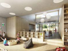 BGM Architekten | Primarschule Küsnacht - Goldbach | Visualisierung maaars.ch