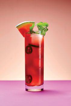 Watermelon-Tomato Cooler Recipe