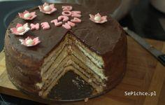 Tort śmietankowo czekoladowy | SePichce.pl