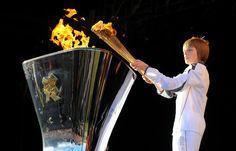 Olympics flame