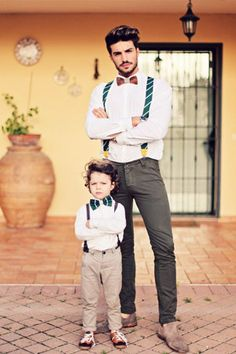 Photo idea daddy and son