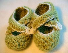 knitted baby booties - Google Search