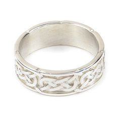 Gold or Sterling Silver Celtic Knot Ring