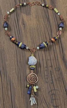 Horseshoe Necklace, Monogram Necklace, Diy Necklace, Necklace Designs, Necklace Tutorial, Pendant Necklace, Diamond Solitaire Necklace, Diamond Pendant, Wire Jewelry