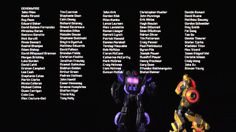 Transformers Fall of Cybertron Credits - Love this song and the parts with Soundwave with Bumblebee and Jazz dancing X3