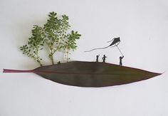 Foglie e matita: la natura entra nell'illustrazione