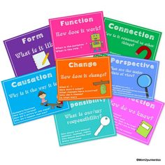 Free* Display these posters in your classroom to help reinforce and facilitate the IB Key Concepts