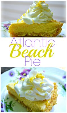 You should make this Atlantic Beach Pie because it's an easy, summery treat that everyone will love! honeysuckleafternoons.com