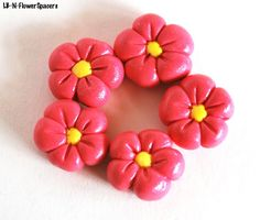 Handmade Polymer Clay Beads, Polymer Clay Beads for Sale, Jewelry Making Supplies, Bead Supplies, Spacer Beads