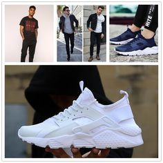 #ChaussuresHommes Hard Wear, How To Wear, Summer Sneakers, Nike Huarache, Casual Shoes, Trainers, Adidas Sneakers, Fashion, Shoes