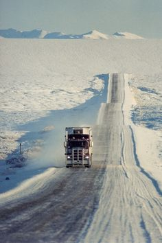 Snow & Ice Road - Alaska